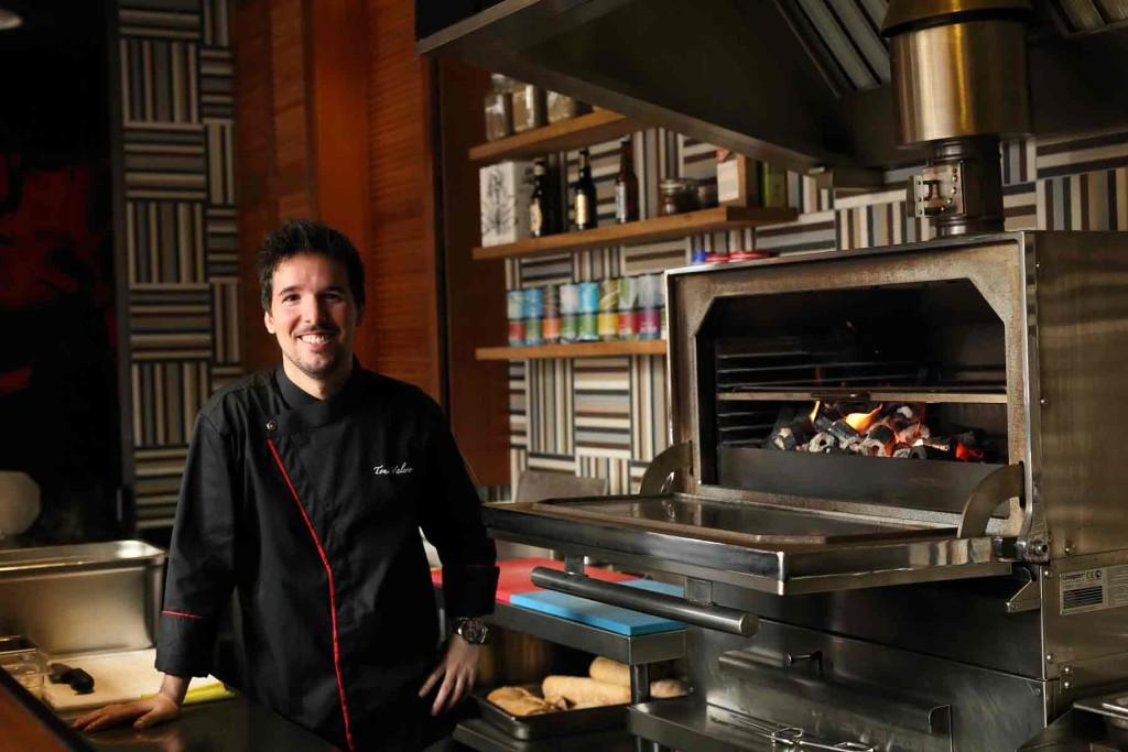 Chef Toni Valero Ruiz, head chef of Ohla Tapas & Cocktails