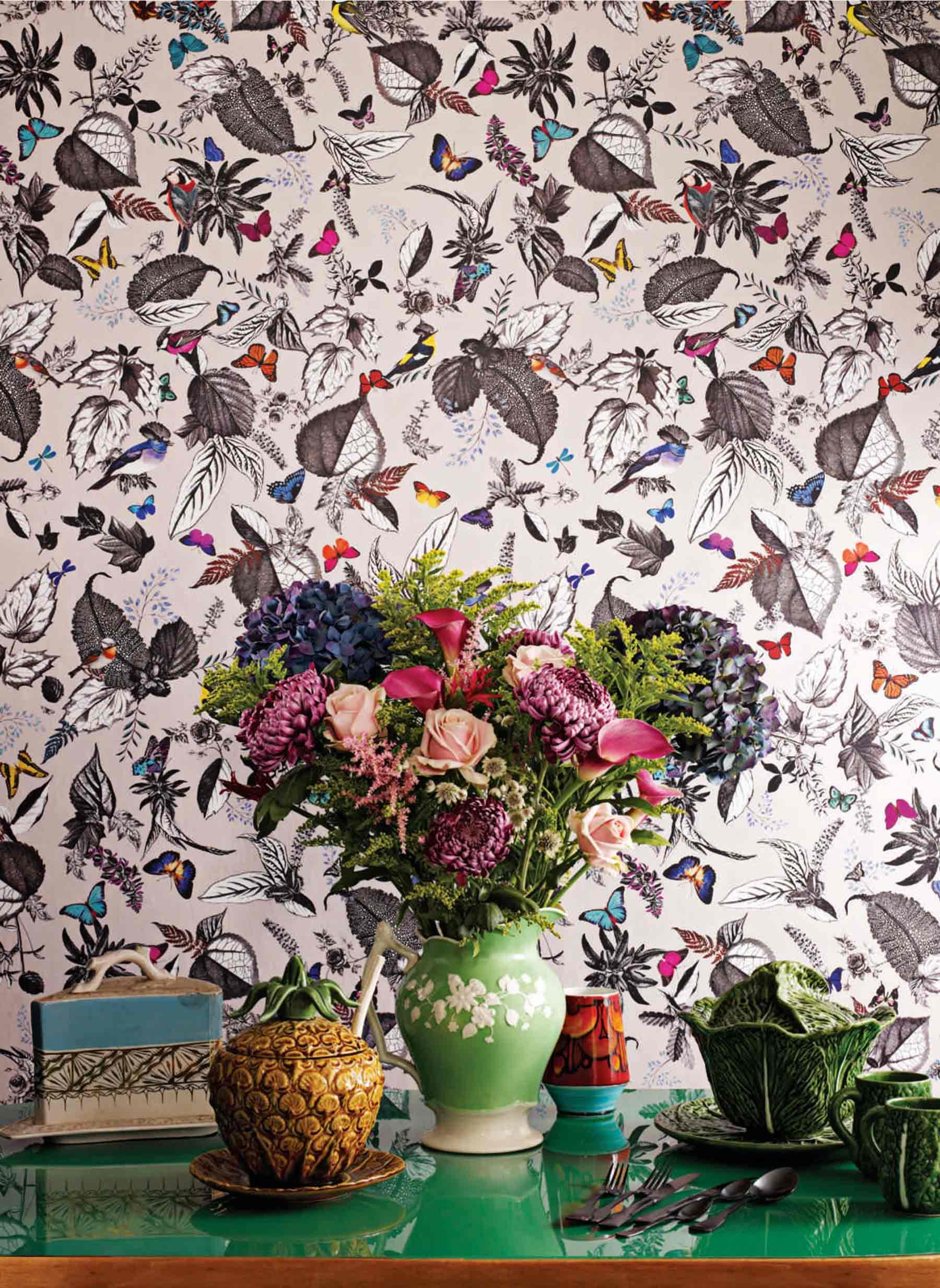 Birdsong wallpaper Osborne & Little