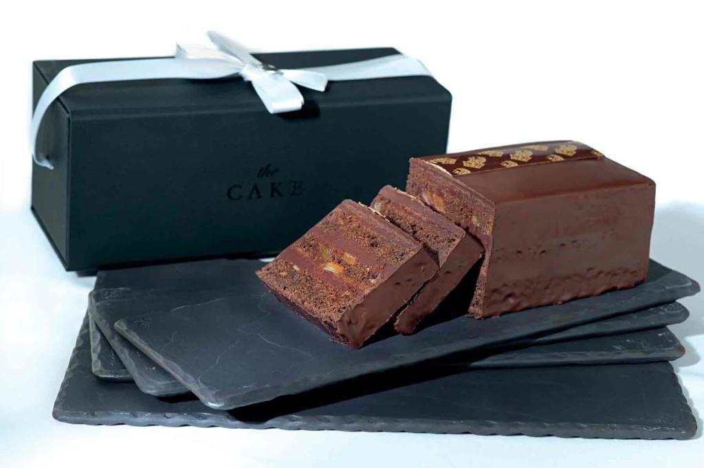 The signature Ritz-Carlton cake