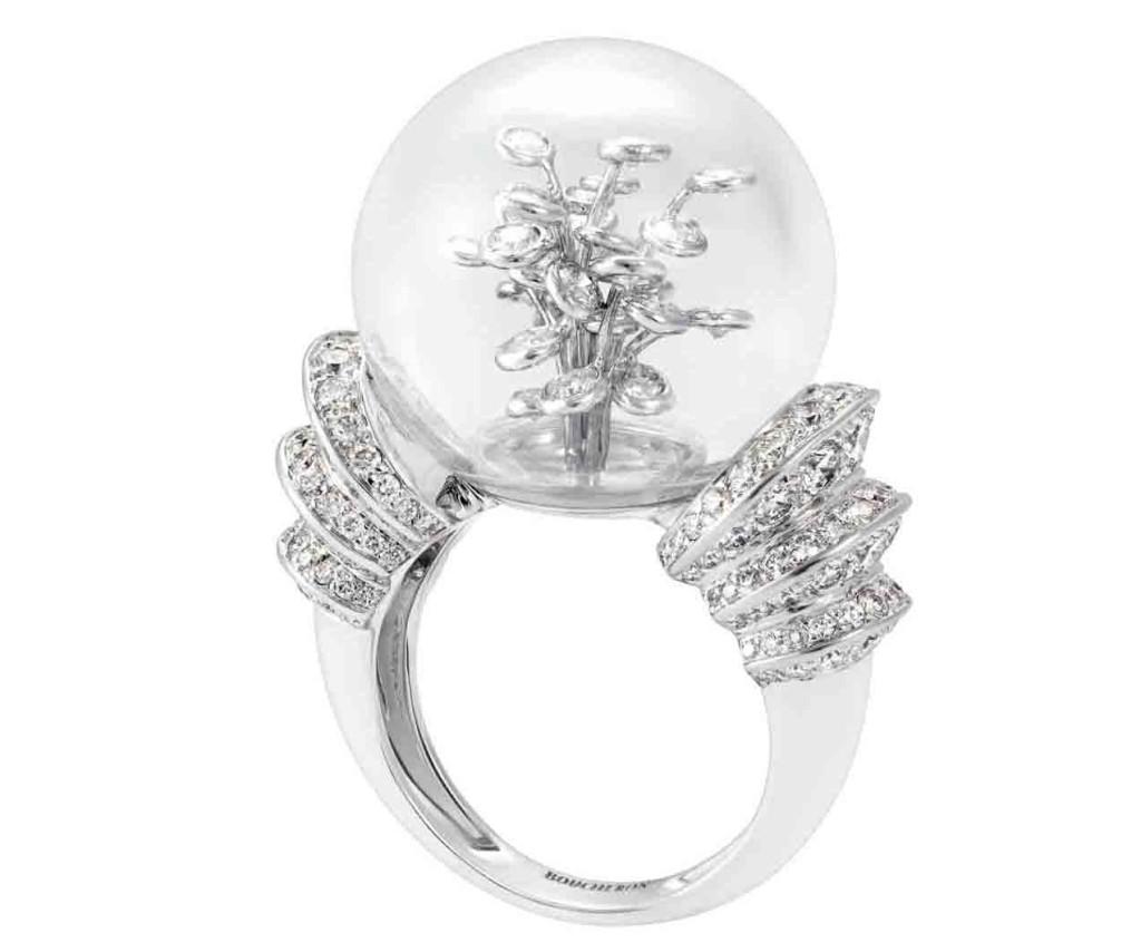 Perles d'Eclat ring, Boucheron