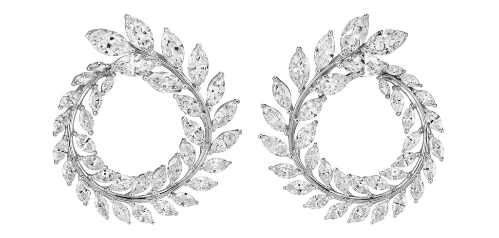 Earrings from the Green Carpet Collection, Chopard