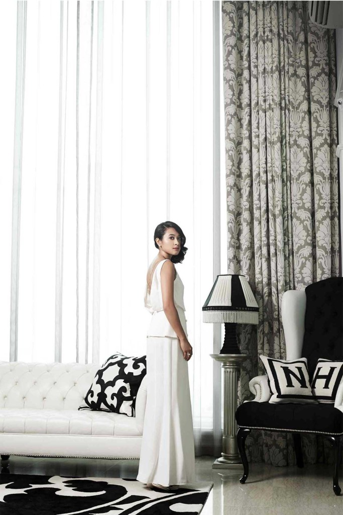 Nadia Nasimuddin in head-to-toe Chanel