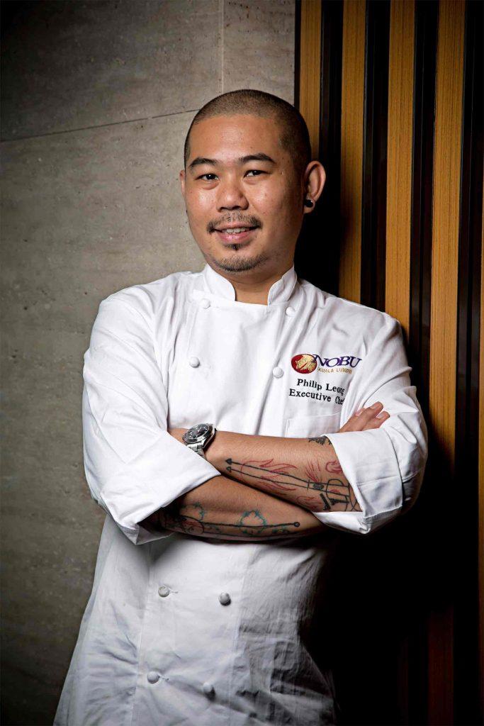 > Chef Philip Leong of Nobu KL