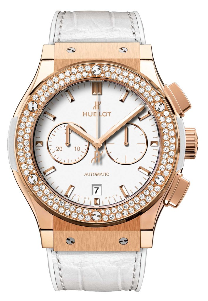 Classic Fusion White Chrono watch, Hublot