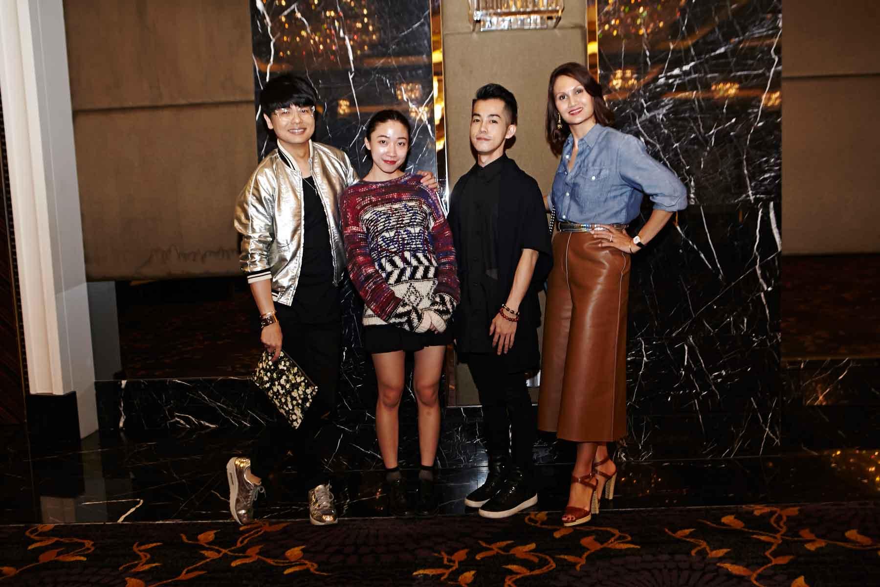 Kenneth Goh, Evelyn Chia, Alwyn Chua, and Natasha Kraal