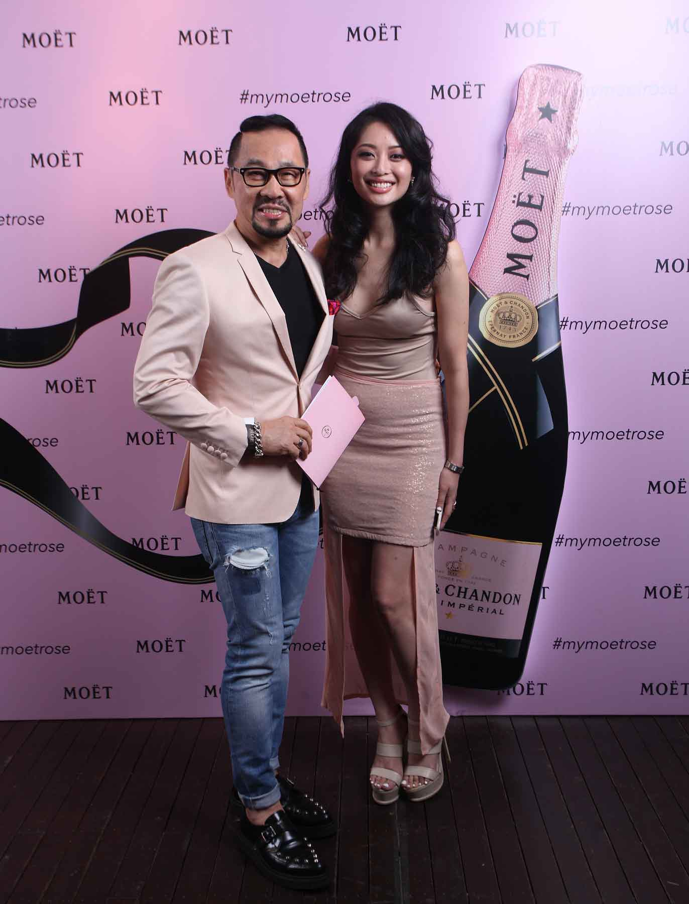 Datuk Kelvin Tan and Sarah Lian