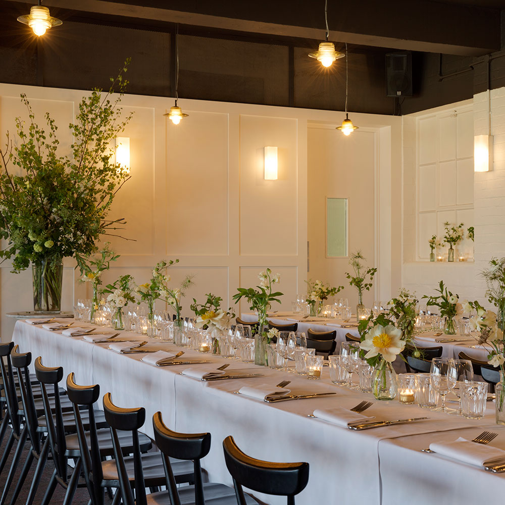 The best private dining rooms in london harper 39 s bazaar for Q dining room london