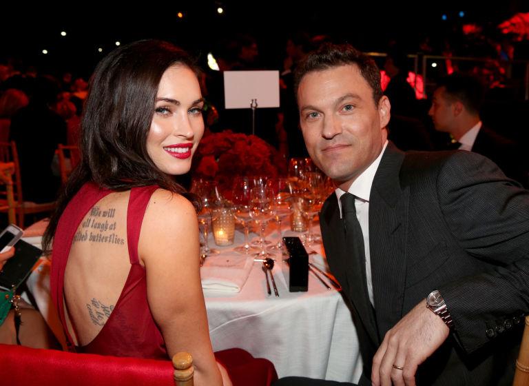 Megan Fox and David Silver