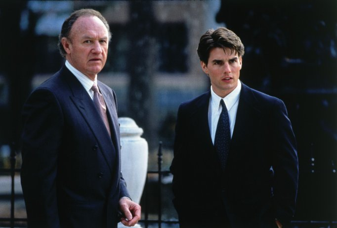 Image: Still of Tom Cruise and Gene Hackman in The Firm (1993, Paramount HE) via IMDB.com