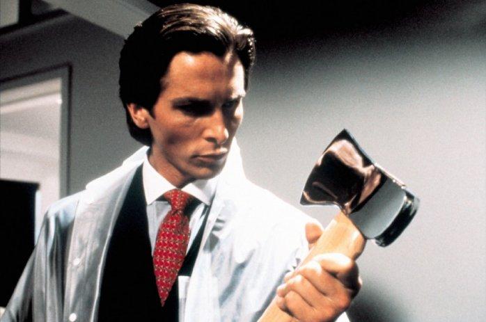 Image: Still of Christian Bale in American Psycho (2000, Universal Studios) via IMDB.com