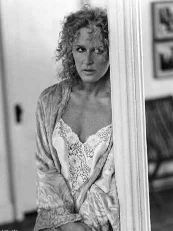 Still of Glenn Close in Fatal Attraction (1987, Paramount Pictures) via IMDB.com