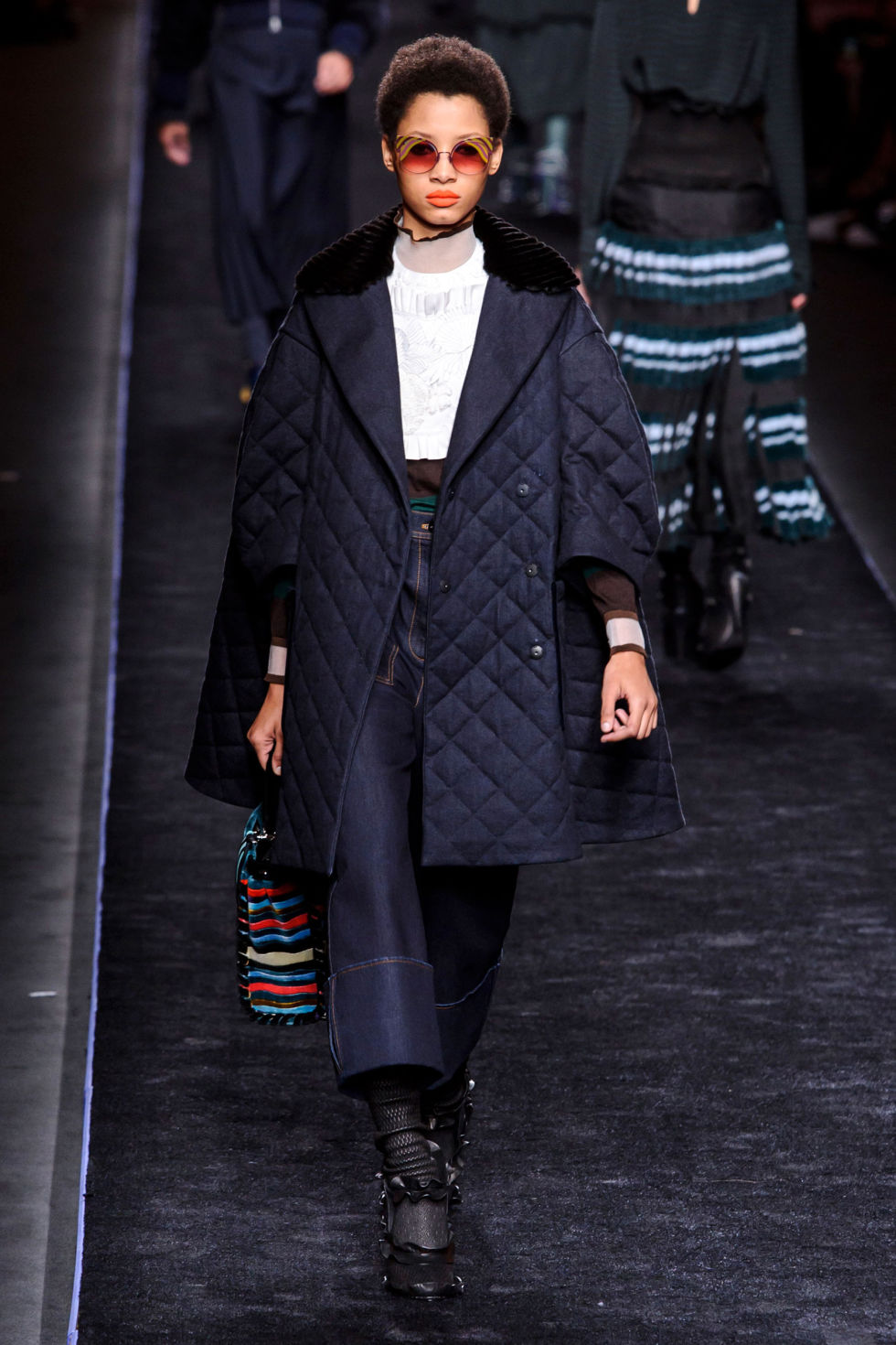 Milan Fashion Week #MFW Autumn/Winter 2016 Fendi