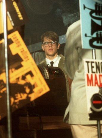 Still of Matt Damon in The Talented Mr. Ripley (1999) via IMDB.com