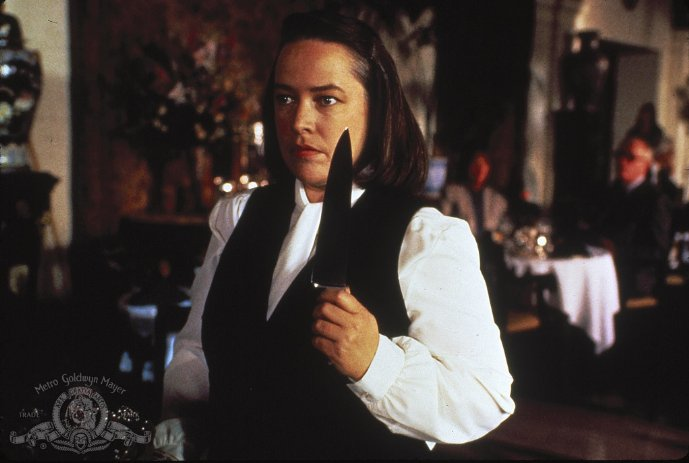Still of Kathy Bates in Misery (1990, Metro-Goldwyn-Mayer Studios Inc) via IMDB.com