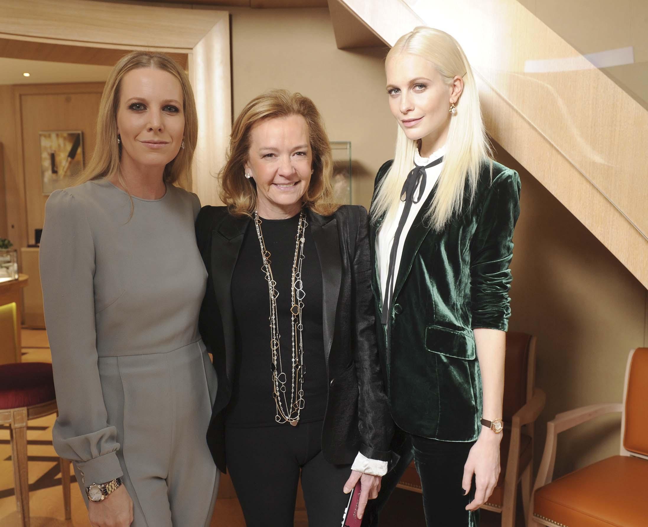 Alice Naylor Leyland;Caroline Scheufele;Poppy Delavigne