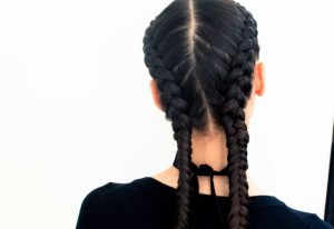 A How To Guide To The Double Dutch Braid Harper S Bazaar Malaysia