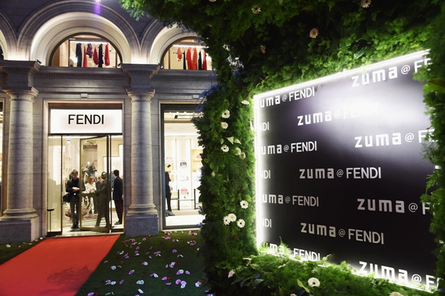 Palazzo FENDI And ZUMA Inauguration on March 10, 2016 in Rome, Italy.