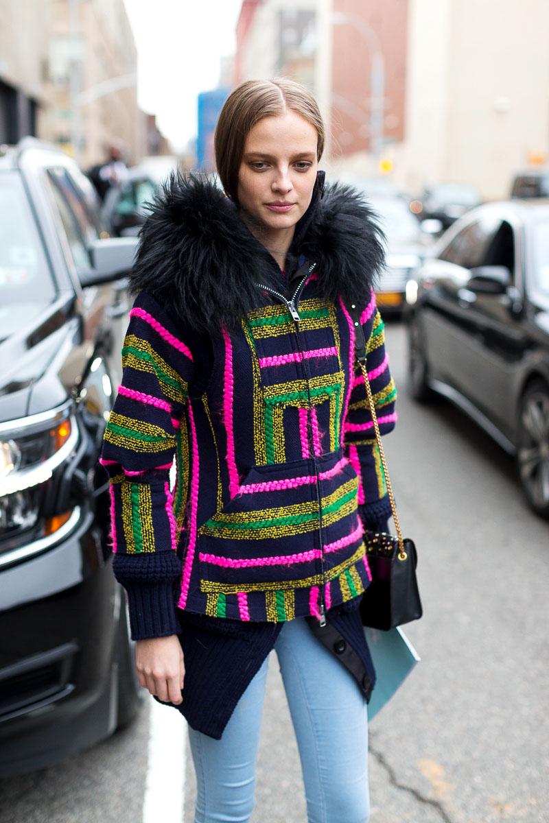 Supersized Street Style Issue New York Nyfw Autumn Winter 2016 Harper 39 S Bazaar Malaysia
