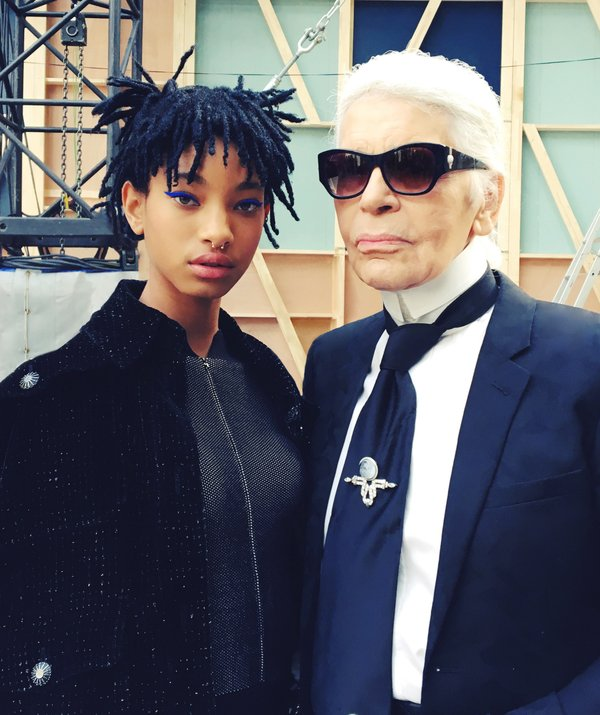 Instagram @Chanel: Willow Smith has been chosen by Karl Lagerfeld as the new CHANEL ambassadress. @OfficialWillow #ChanelFallWinter2017