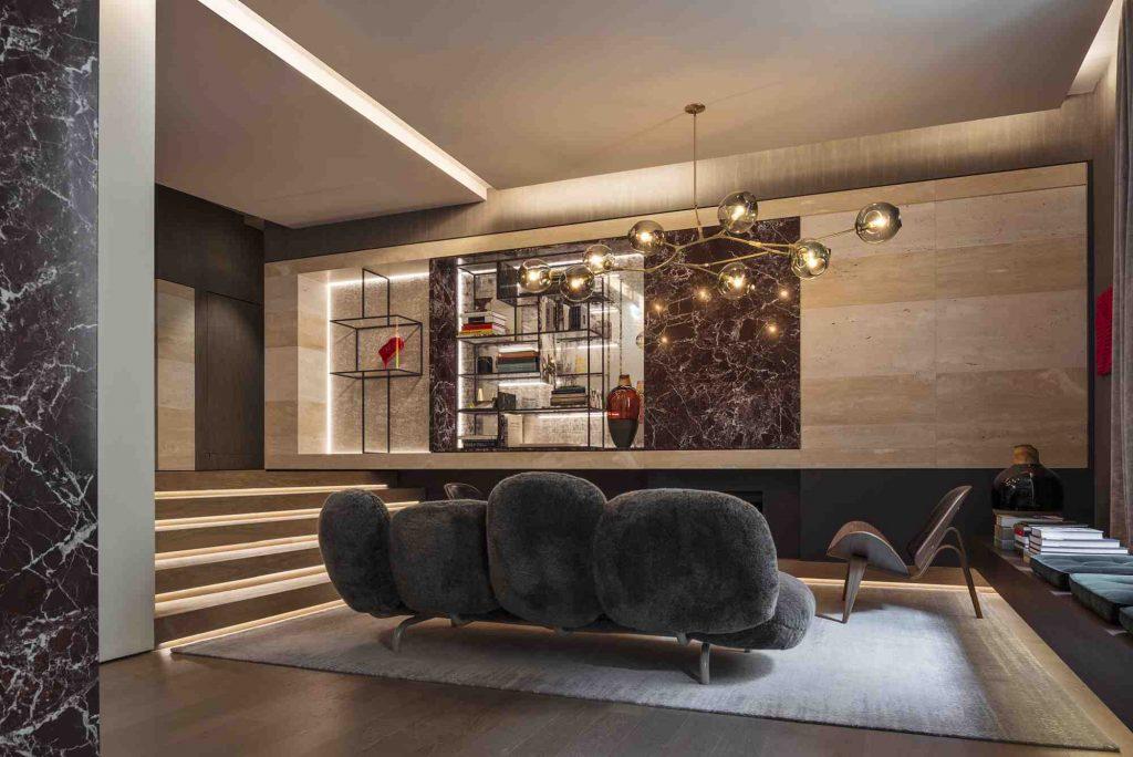 Fendi Private Suites, Foyer