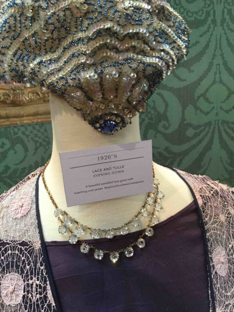 An exquisite 1920's headpiece, signatory of the Roaring Twenties.