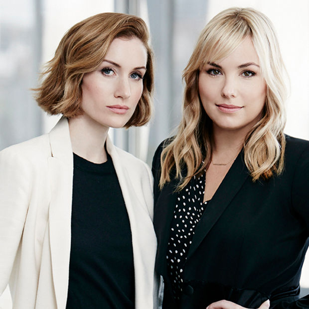 Clique Media Group co-founders and co-CEOs Katherine Power and Hillary Kerr | Image: Target