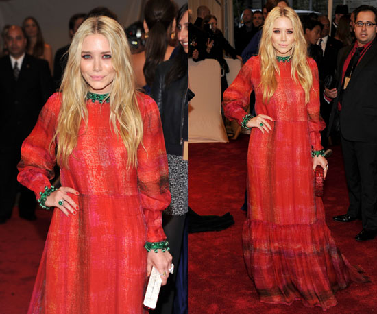 Mary Kate Olsen in Givenchy Haute Couture Met Costume Gala, 2011