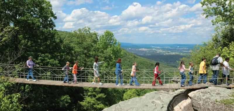 Let your child appreciate the beauty of nature with the tour guides