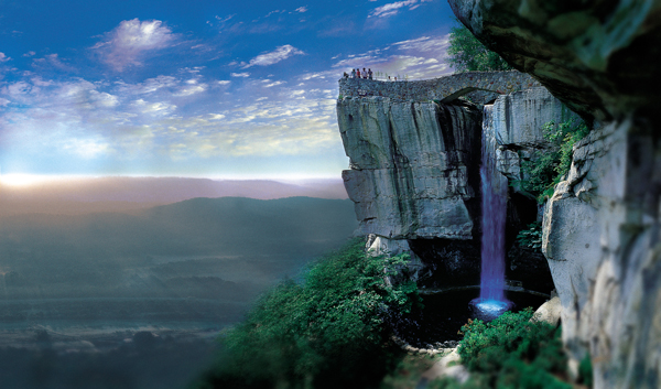 Enjoy the world famous view from Lover's Leap of the Lookout Mountain