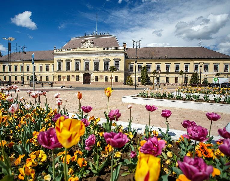 The former office of Balassagyarmat, now a tourist site