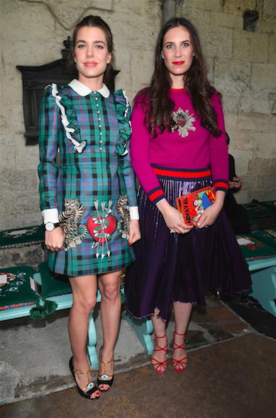 Charlotte Casiraghi and Tatiana Casiraghi | Image: Getty