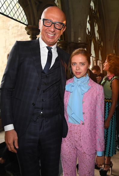 Marco Bizzarri, Gucci CEO, and Bel Powley | Image: Getty