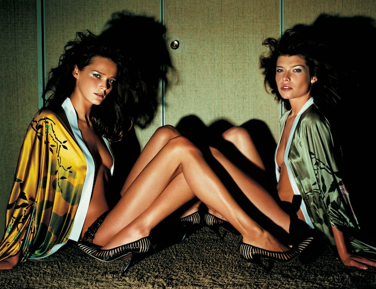 Spring Summer 2003 , Photographed by Mario Testino   Image Courtesy of Gucci