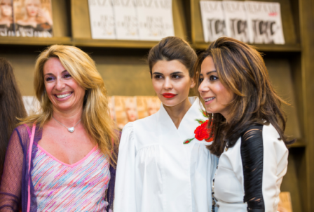 Amanda Gutkin, Miriam Abadi and Bazaar's Publishing Director Lisa Rokny