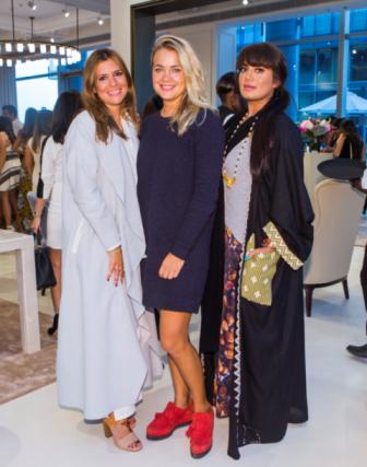 Ayten AlKhayat, Henna Kaarlela and Fatma Gargash