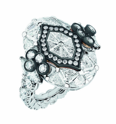 Dior Joaillerie Collection Presents Dior A Versailles Harpers