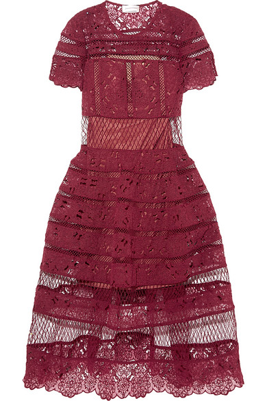 Guipure lace dress, RM