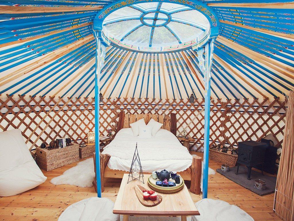 Butterfly Meadow Yurt 1