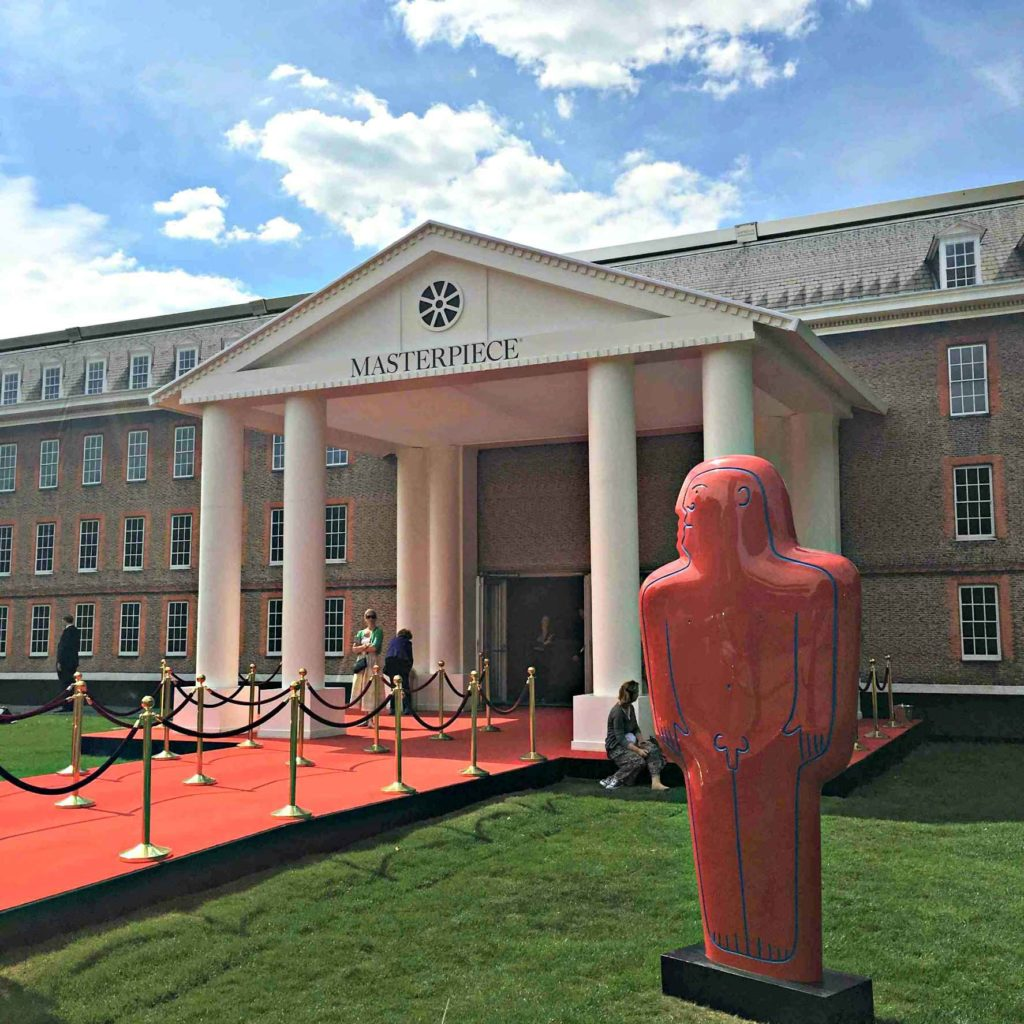 Masterpiece London located at the South Grounds The Royal Hospital Chelsea, 29 June 2016 - 5 July 2016