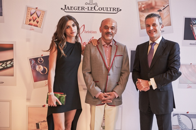f269b7874cb Jaeger-LeCoultre and Christian Louboutin Unveils Couture Straps in ...