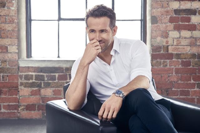 Piaget's International Brand Ambassador, Ryan Reynolds
