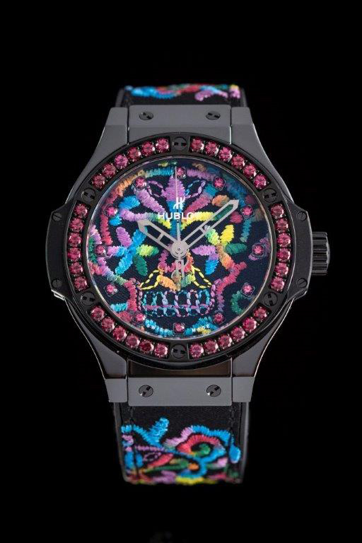 Hublot's Broderie Sugar Skull hits the right note between couture and watch-making ingenuity
