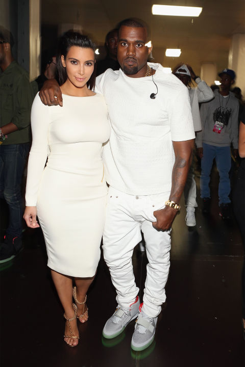 Attending the 2012 BET Awards in LA as a couple. | Image: Getty