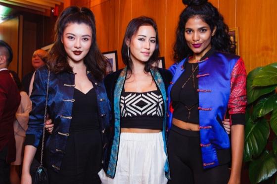 Carey Ng, Lisa Von Tang and Thanuja Ananthan | Image Courtesy of Chi Chi Von Tang