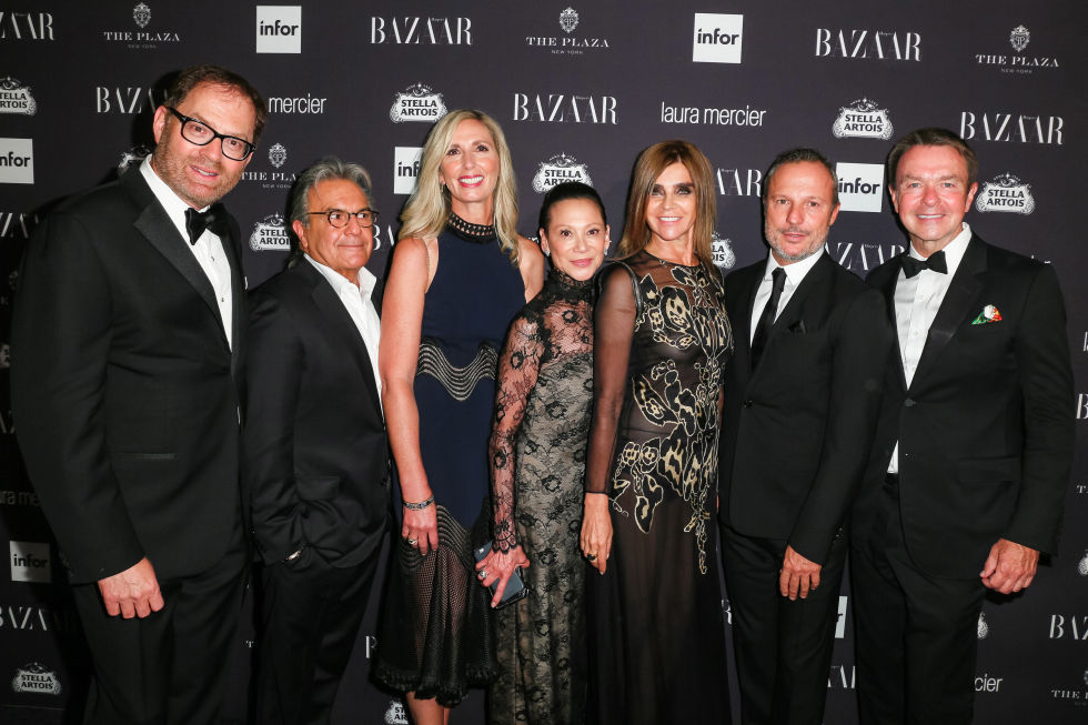 David Carey, Nancy Bernardini, Jeanette Chang, Carine Roitfeld, and Michael Clinton | Image: BFA