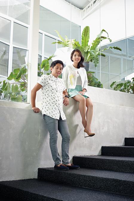 Clifford and Elisa Khong