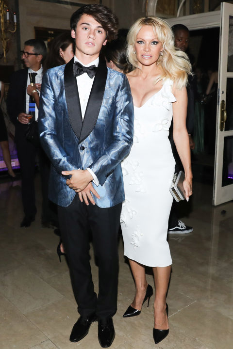 Dylan Jagger and Lee Pamela Anderson | Image: BFA