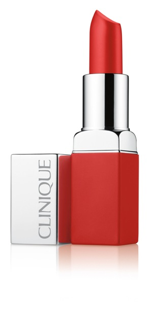 Clinique Pop Matte Matte Lip Colour + Primer in Ruby Pop