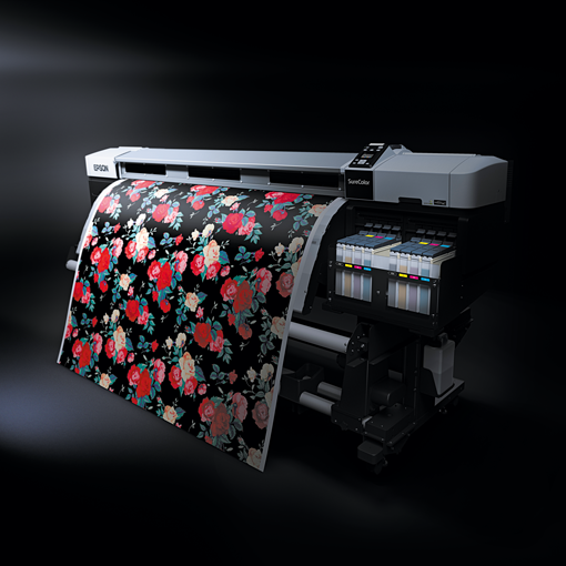 The Epson SureColor digital textile printer brings together the best of tech and fashion