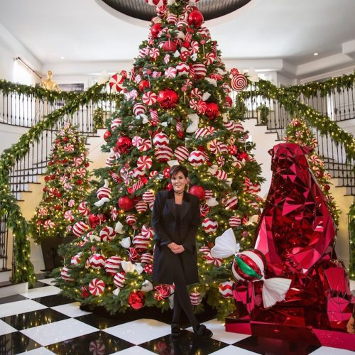 Best Christmas Decoration Malaysia 2013: House Goals: Kris Jenner's Christmas Decorations